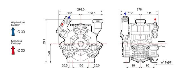"""dis bp75 - Comet BP 75 - 1"""" 3/8 M"""