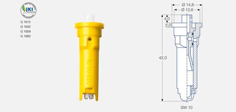 id90dis e1524578240616 - Інжекторний керамічний розпилювач Lechler ID 90-03 C
