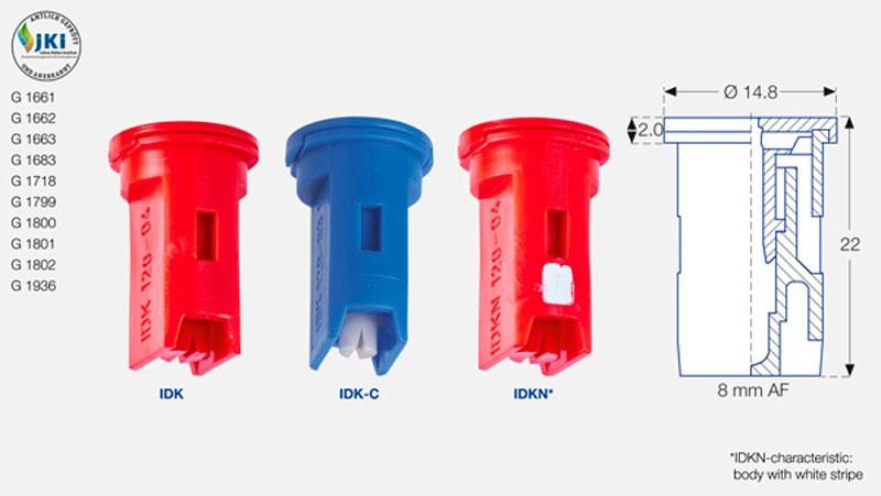 idk - Розпилювач інжекторний керамічний Lechler IDK 120-03 С