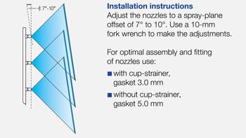 web produkte id90 3 installation 350px en - Інжекторний керамічний розпилювач Lechler ID 90-05 C