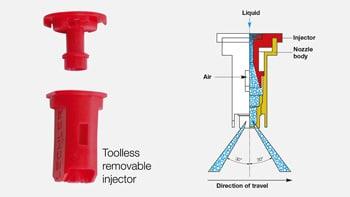 web produkte idkt 2 350px en - Розпилювач інжекторний пластиковий Lechler IDKT 120-06