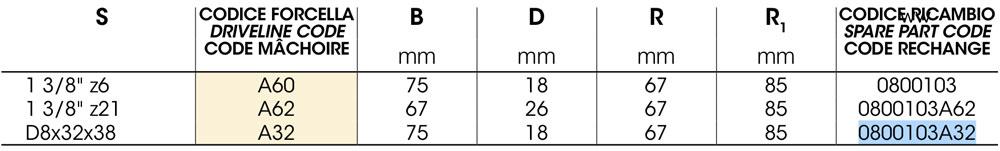 000000586 2 - Вилка кардана 1с на Z8 з обгонною муфтою