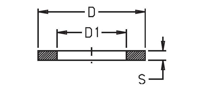 39125 - Прокладка кільце Geoline 33х45х3 EPDM