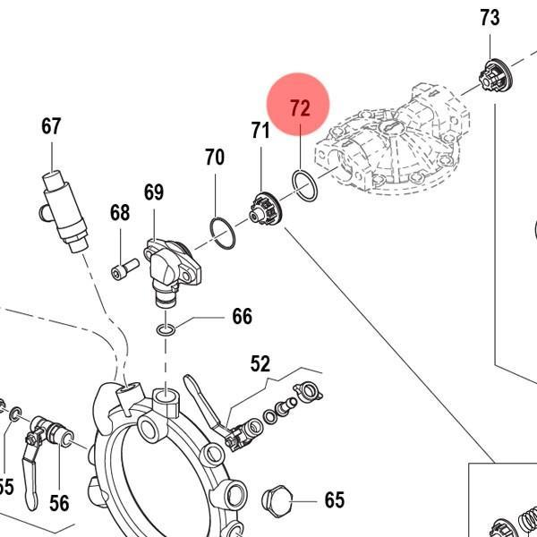 Ущільнююче кільце Comet 1210 0018