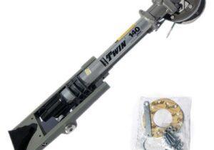 """Поливний пістолет Komet Twin 140/PL 24"""" з розпилювачем 22мм/0,87"""
