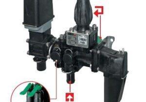 Ручной клапан Geoline GS VGME 5 20BAR 7SEC