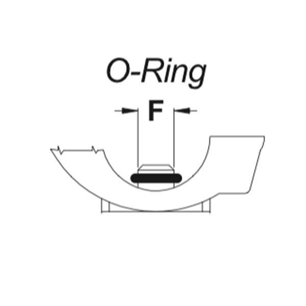 Кільце ущільнююче Geoline 2,5х6 EPDM NERO 7 мм