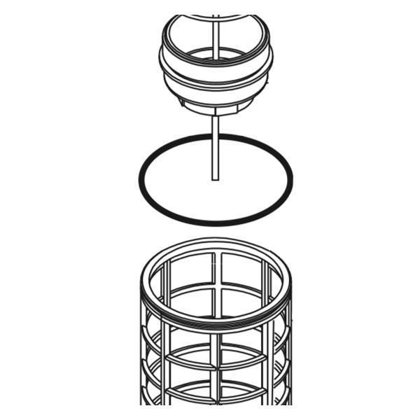 Кільце ущільнююче фільтра Geoline 3400 2,62х101,27 EPDM