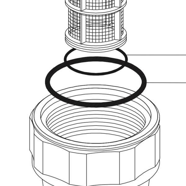 Кільце ущільнююче фільтра Geoline 4212 3,53x53,57 EPDM