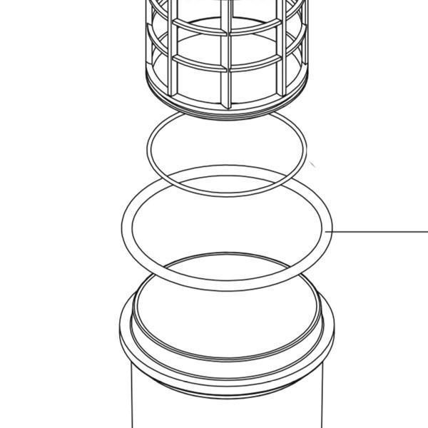 Кільце ущільнююче фільтра Geoline 8500 6,99х126,4 EPDM