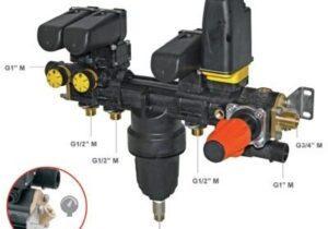 Блок керування клапанами PILOT 2V 40BAR
