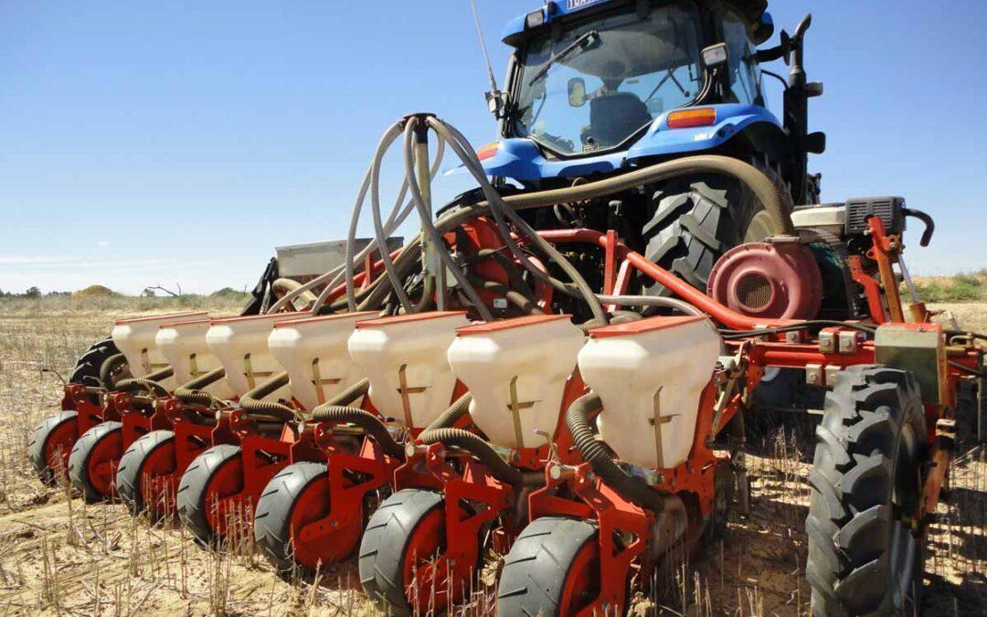 Овощная сеялка в сельском хозяйстве